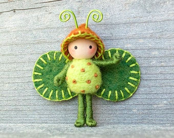 Forest  Bug bendy doll toy minature
