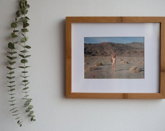 Death Valley Nude   Photography Art Print by Jackie Dives