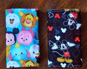 Flat protective Suck Pads for Tula, Ergo, Mei Tai, SSC. Disney Tsum Tsum/Mickey Mouse