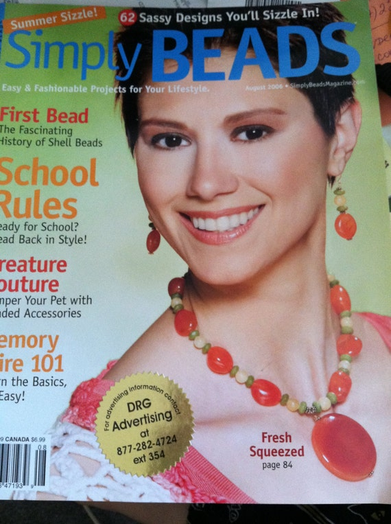 Lot home arts create decorate simply beads magazines for Create and decorate magazine free