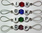 Multi-Purpose Stitch Markers for Knitting - US 5 - Item No. 657
