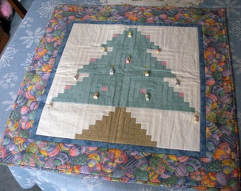 Quilted Easter Tree Wallhanging