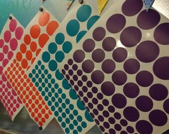 "Vinyl Polka Dots - 2"" polka dots"