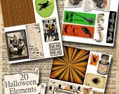 Halloween Instant download kit