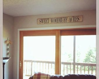 Custom Personalized Sign Large Farmstyle  YOUR Farm or Family Name