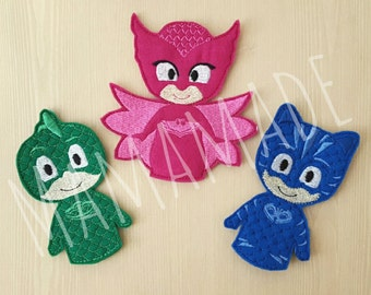 Finger Puppets - Pajama Heroes (Set of 3)
