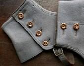 Vintage Wool Spats