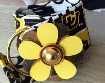 Boutique Colorado University Flower Power Belt