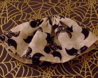 Blythe / DAL Skirt - Halloween 2016 - Vintage Bats