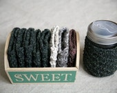 Linen Wool Coffee Cuff