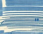 Nani Iro Kokka Japanese Fabric Saaaa Saaa rondo - crisp - 50cm