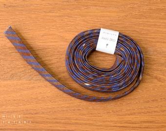 Nani Iro Kokka Japanese Double Gauze Bias Tape - Saaaa Saaa Rondo - Yuunagi - 2.3m roll