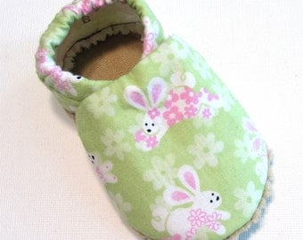 Bunny Soft Soled Baby Shoes 6-12 mo