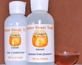 HONEY Argan Oil Shampoo & Conditioner Set (Sulfate and Paraben Free)