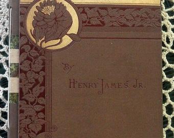 Handbound Concertina Travel Journal or Album From Vintage Book