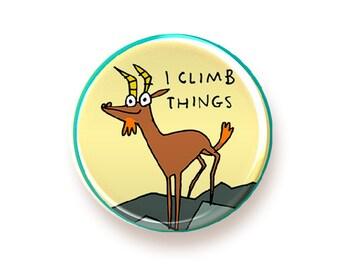 I Climb Things - button
