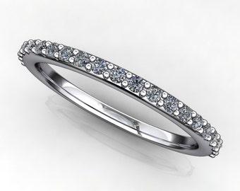 shay wedding band - diamond wedding ring