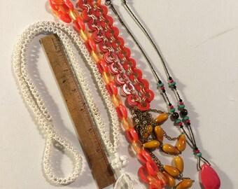 Lot of vintage necklaces