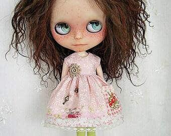 Dress for Blythe Doll, Pink