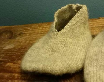 Cashmere Baby Booties 0-3 months