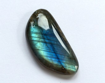 Gemstone Cabochon Labradorite Free Form AAA 39x19mm  FOR ONE