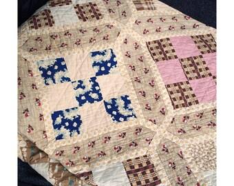 1930's Handmade Quilt