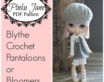 NEW - Blythe Crochet Pantaloons or Bloomers PDF Pattern
