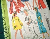 Vintage McCalls Doll Clothing Pattern Number 2123