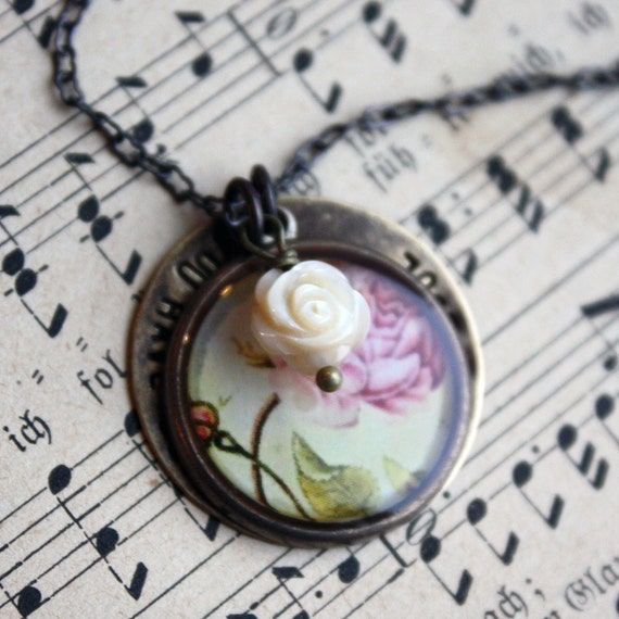 You have bewitched me body and soul (Jane Austen jewelry)