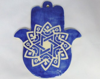 Blue Mandala Chamsa