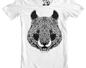 Pandemonium Panda T-Shirt, Tees for Guys, Sizes S - 3XL