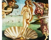 Birth of Venus, Shower Curtain, Printed in USA