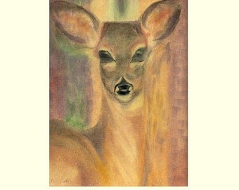 Blessing card for children-prints of my original watercolor painting