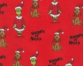 Dr. Seuss How The Grinch Stole Christmas 6 , Grinch Naughty or Nice on Red, yard