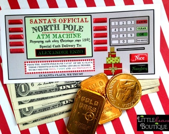 Personalized Christmas Money Envelopes Money Gift 6 designs