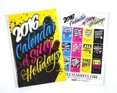 2016 Calendar of Silly Holidays