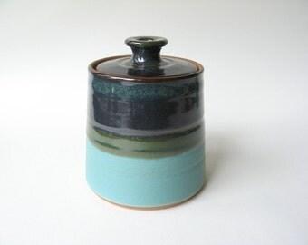 Pottery Lidded Jar