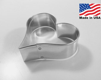 Heart 3 Inch Metal Cookie Cutter