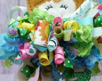 Inspired by Anna Funky Loopy Bow