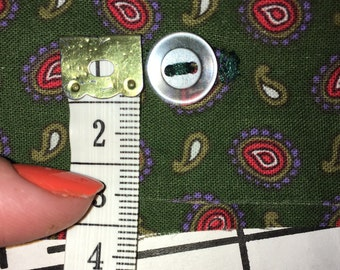 PIF - Qty: 7 Reclaimed Transluscent Silver Buttons 10 MM, 1 CM, .39 Inches
