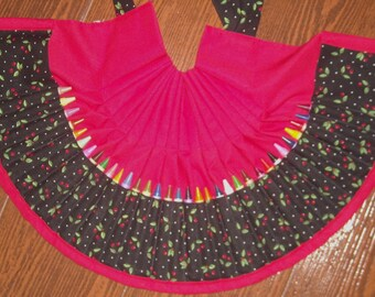 Cherries Crayon apron