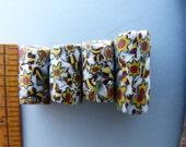 Sunflower Design Antique Millefiori Trade Beads
