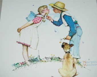 Vintage Buttercup Norman Rockwell Print 11744
