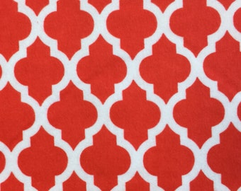 XL Wrap, Microwavable, FLAXSEED, Scented or Unscented, Red White Flannel Fabric - 3 SIZES