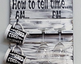 How to tell Time.....Different colors avalablie click on pictures Awesome Addition to anyone's Kitchen