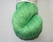hand dyed yarn - SW Silk Sock - Flash Bang colorway (dyelot 32216)