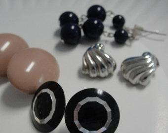 Mixed Lot of Pierced Earrings