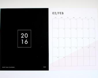 SALE! 2016 wall calendar - basic