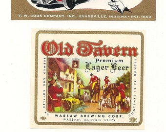 23 VINTAGE Old BEER LABELS