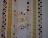 Origami Lucky Star Strips - Tuscan Summer Pack of 75